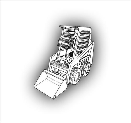 Product picture DOWNLOAD Bobcat S220 BICS Skid-Steer Loader Service Manual